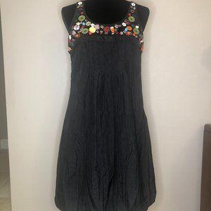SUE WONG Bubble Hem Dress Size 8